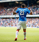 14.07.2019: Rangers v Marseille: Daniel Candeias celebrates his goal for Rangers