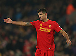 Dejan Lovren of Liverpool during the Premier League match at the Anfield Stadium, Liverpool. Picture date: November 26th, 2016. Pic Simon Bellis/Sportimage
