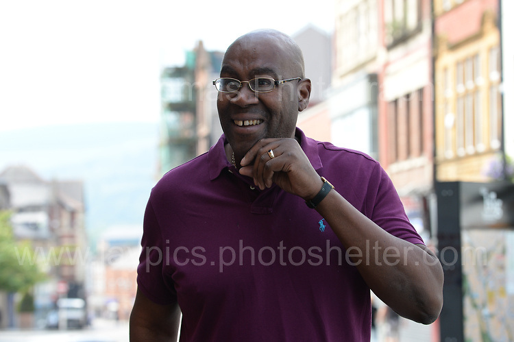 "Film director Cass Pennant arrives at the Red House for the showing of his short film ""Beverley"" during the Merthyr Rising Festival 2016 in Merthyr Tydfil on Saturday June 4th and Sunday June 5th 2016. <br /> <br /> <br /> Jeff Thomas Photography -  www.jaypics.photoshelter.com - <br /> e-mail swansea1001@hotmail.co.uk -<br /> Mob: 07837 386244 -"