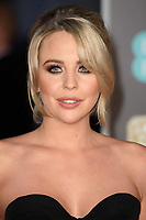 Lydia Bright arriving for the BAFTA Film Awards 2018 at the Royal Albert Hall, London, UK. <br /> 18 February  2018<br /> Picture: Steve Vas/Featureflash/SilverHub 0208 004 5359 sales@silverhubmedia.com