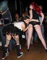 Audrey Borden, MacKenna Dawn at AVN Expo, <br /> Hard Rock Hotel, <br /> Las Vegas, NV, Thursday January 16, 2014.