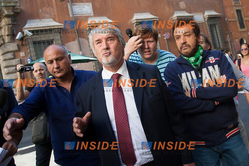 Giuliano Poletti<br /> Roma 29-09-2014 Sede del Partito Democratico. Direzione nazionale del Partito Democratico.<br /> Photo Samantha Zucchi Insidefoto