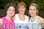 Enjoying the Feet First fun run in Killarney on Sunday were Deirdre O'Halloran, Tracey Bolger and Jane O'Halloran, Tralee.