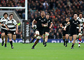 4th November 2017, Twickenham Stadium, Twickenham, England; Autumn International Rugby, Barbarians versus New Zealand; Vaea Fifita of New Zealand running with the ball