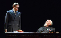 London - Charles Edwards and Joss Ackland -  'The King's Speech' photocall at Wyndham's Theatre, London - March 26th 2012..Photo by Jane Burrows.