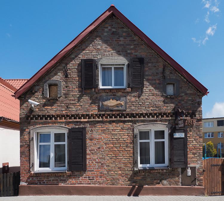 Stary dom na Helu
