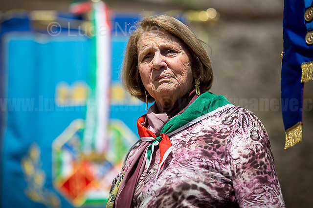 Tina Costa (Antifascist Partizan. Member of the Partigiani: the Italian Resistance during WWII).<br />