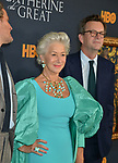 "Helen Mirren, Philip Martin 031 attends the Los Angeles Premiere Of The New HBO Limited Series ""Catherine The Great"" at The Billy Wilder Theater at the Hammer Museum on October 17, 2019 in Los Angeles, California."