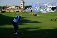 Jon Rahm (ESP) during the 1st round of the DP World Tour Championship, Jumeirah Golf Estates, Dubai, United Arab Emirates. 15/11/2018<br /> Picture: Golffile | Fran Caffrey<br /> <br /> <br /> All photo usage must carry mandatory copyright credit (© Golffile | Fran Caffrey)