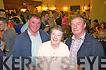 Daniel O'Donnell, Eileen Lane and Mike O'Donnell enjoying the live music last Sunday night in Kate Brown's Bar for the Con Curtin Music Festival in Brosna.