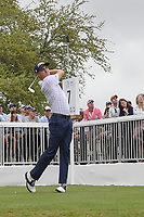 Justin Thomas (USA) watches his tee shot on 7 during day 5 of the World Golf Championships, Dell Match Play, Austin Country Club, Austin, Texas. 3/25/2018.<br /> Picture: Golffile | Ken Murray<br /> <br /> <br /> All photo usage must carry mandatory copyright credit (&copy; Golffile | Ken Murray)