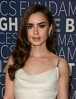 MOUNTAIN VIEW, CA - NOVEMBER 04: Lily Collins attends the 2019 Breakthrough Prize at NASA Ames Research Center on November 4, 2018 in Mountain View, California.  <br /> CAP/MPI/SPA<br /> &copy;SPA/MPI/Capital Pictures