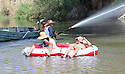 Rafting down the Colorado River in Yuma, AZ