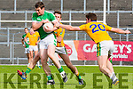 Shaun Keane Legion goes past Donal leahy Feale Rangers during their County Championship clash in Fitzgerald Stadium on sunday
