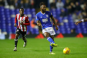 1st November 2017, St. Andrews Stadium, Birmingham, England; EFL Championship football, Birmingham City versus Brentford; Jacques Maghoma of Birmingham City threads a ball forward