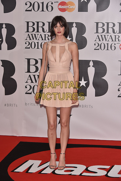 LONDON, ENGLAND - FEBRUARY 24: Sam Rollinson attends the BRIT Awards 2016 at The O2 Arena on February 24, 2016 in London, England<br /> CAP/PL<br /> &copy;Phil Loftus/Capital Pictures