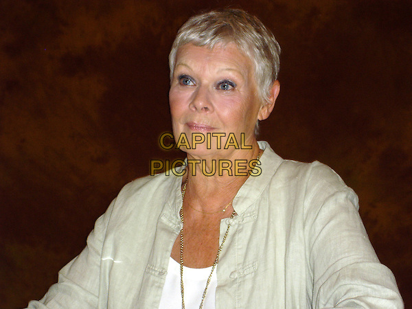 "DAME JUDI DENCH.Photocall for ""Notes on a Scandal"", Le Petit Trianon Suite at the Regent Beverly Wilshire hotel, California, USA..September 20th, 2006.Ref: AW.headshot portrait .www.capitalpictures.com.sales@capitalpictures.com.©Anita Weber/Capital Pictures."