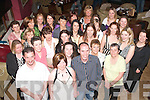 30TH SURPRISE: Tina O'Connor, Caherbreagh, Tralee (front centre) received a great 30th birthday gift from her hubby Terance when he landed her in O'Donnell's bar/restaurant, Mounthawk, Tralee to find many family and friends awaiting her.   Copyright Kerry's Eye 2008