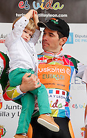 Pablo Urtasun wins,first stage of the Castill 2013, ESP