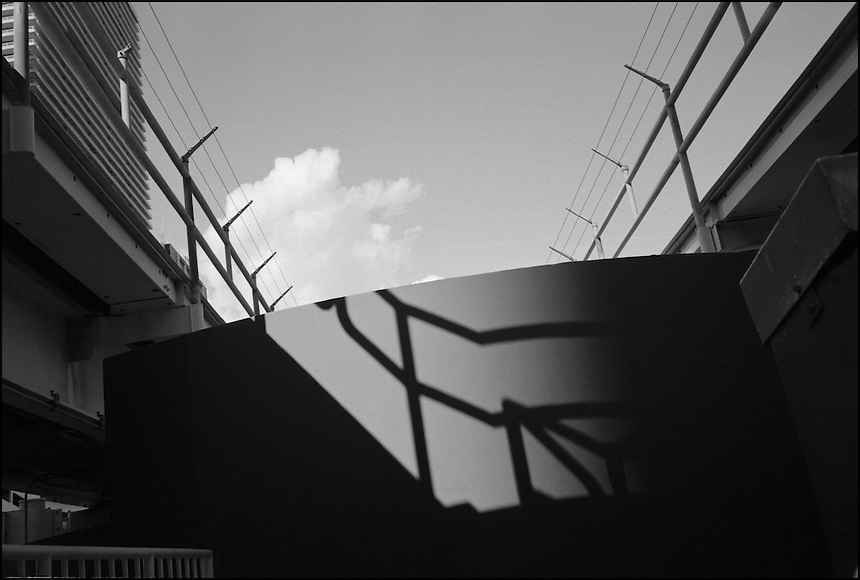 "Shadow VI<br /> From ""Miami in Black and White"" series. Miami, 2009"