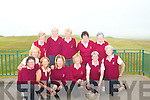 GOLF: Ballybunion Ladies Junior team who beat Mallow in Lahinch on Sunday 8th June in the quarter finals of the League. Front l-r: Eileen Kenny Ryan, Josette O'Donnell, Nora Quaid, Margaret McAuliffe, Dori Cotter (Lady Captain), Pat Joyce and Eleanor O'Sullivan. Back l-r: Nola Adams, Toni Quilter, Catriona Corrigan, Ann O'Brien (Manager) and Norma McKeown (Lady President).   Copyright Kerry's Eye 2008