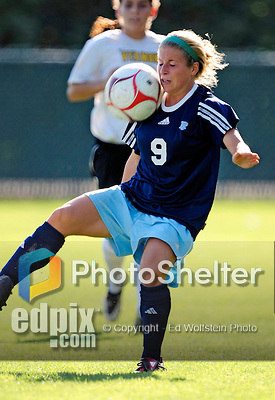 17 September 2009: Rhode Island Rams' forward Alexis Veith in action against the University of Vermont Catamounts at Centennial Field in Burlington, Vermont. The Rams edged out the hosting Catamounts 2-1. Mandatory Photo Credit: Ed Wolfstein Photo