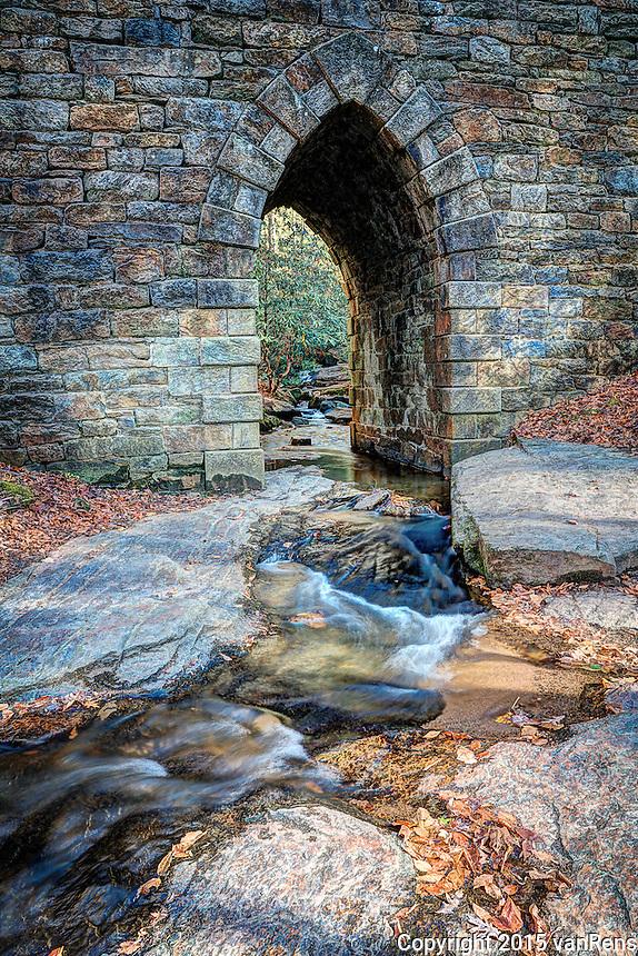 Poinsett Bridge Upstate South Carolina.