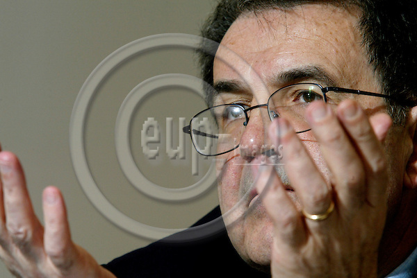 BRUSSELS - BELGIUM - 28 APRIL 2004--Romano PRODI President of the EU Commission-- PHOTO: ERIK LUNTANG / EUP-IMAGES