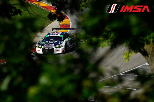 IMSA WeatherTech SportsCar Championship<br /> Continental Tire Road Race Showcase<br /> Road America, Elkhart Lake, WI USA<br /> Saturday 5 August 2017<br /> 57, Audi, Audi R8 LMS GT3, GTD, Lawson Aschenbach, Andrew Davis<br /> World Copyright: Richard Dole<br /> LAT Images