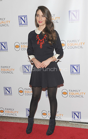 NEW YORK, NY - MAY 09: Sara Bareilles attends the 11th Annual Family Equality Council Night at the Pier at Pier 60 on May 9, 2016 in New York City.  Photo Credit: John Palmer/Media Punch