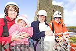 ABSEIL: Some of the organisers of the sponsored abseil in aid of the .. Owen to finish