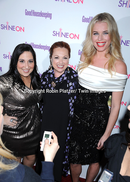 "Esther and Rebecca Romijn attending The Good Housekeeping ""Shine On"" Event .on April 12, 2011 at Radio City Music Hall in New York City. This event benefits The National Women's History Museum."