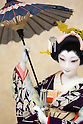 "Japanese dolls dressed in traditional wear of the Edo era are displayed at the ""Japanese Doll Exhibition"" by Hisen Koike on October 11, 2014 in Tokyo, Japan. Hisen Koike, President of the Ningyou Bijustsu (Art of Dolls) Association, exhibited 100 scenes of Edo era life by showing the intricate dolls wearing traditional clothes and accessories of the time. The exhibition is being held from October 11 to 17 at Ginza Fenix Plaza in Tokyo. (Photo by Rodrigo Reyes Marin/AFLO)"