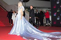 French singer Bilal Hassani poses on the red carpet as she arrives to attend the 21st NRJ Music Awards ceremony at the Palais des Festivals in Cannes, southeastern France, on November 9, 2019<br /> Le chanteur français Bilal Hassani pose sur le tapis rouge lors de son arrivee a la 21e ceremonie des NRJ Music Awards au Palais des Festivals a Cannes, dans le sud-est de la France - le 9 novembre 2019.<br /> Eric Dervaux_ DALLE