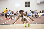 COLLEGE STATION, TX - MARCH 11: Marshay Ryan of Auburn competes in the triple jump during the Division I Men's and Women's Indoor Track & Field Championship held at the Gilliam Indoor Track Stadium on the Texas A&M University campus on March 11, 2017 in College Station, Texas. (Photo by Michael Starghill/NCAA Photos/NCAA Photos via Getty Images)