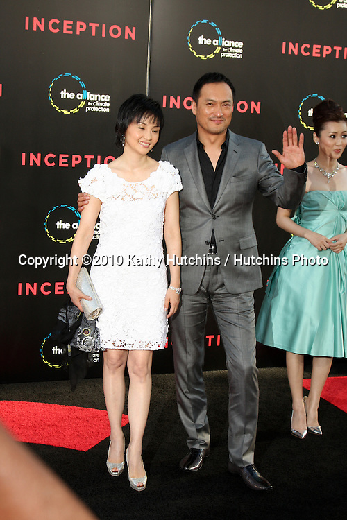 LOS ANGELES - JUL 13:  Ken Watanabe arrive at the Inception Premiere at Grauman's Chinese Theater on July13, 2010 in Los Angeles, CA ....
