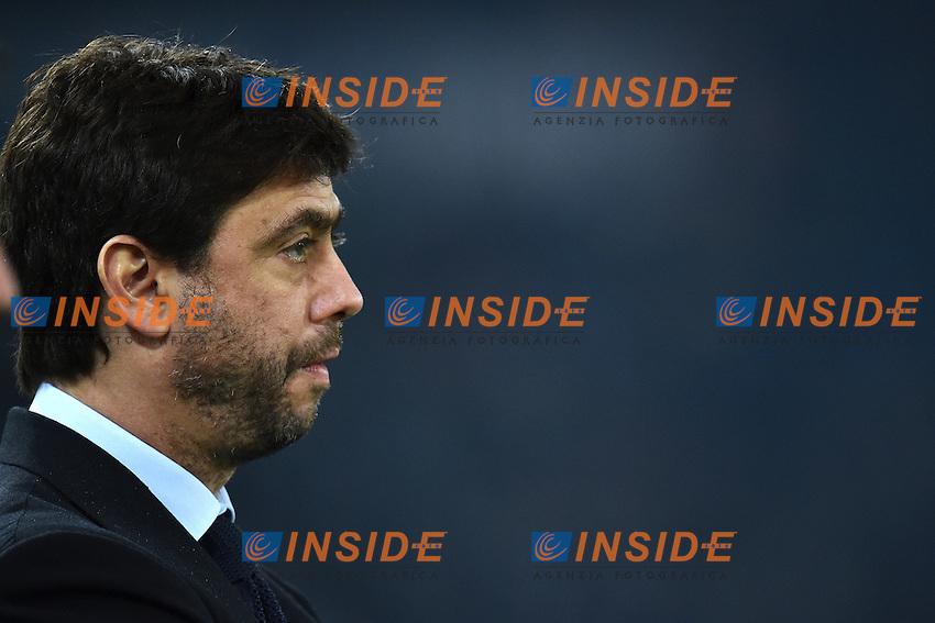 Andrea Agnelli Juventus <br /> Roma 22-11-2014 Stadio Olimpico, Football Calcio Serie A . Lazio - Juventus. Foto Andrea Staccioli / Insidefoto