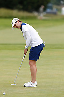 Karrie Webb (AUS) putts on the 5th hole during the final round of the ShopRite LPGA Classic presented by Acer, Seaview Bay Club, Galloway, New Jersey, USA. 6/10/18.<br /> Picture: Golffile | Brian Spurlock<br /> <br /> <br /> All photo usage must carry mandatory copyright credit (&copy; Golffile | Brian Spurlock)