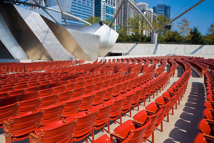 Jay Pritzker Pavilion in Millennium Park; Chicago, IL