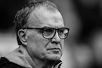 Leeds United manager Marcelo Bielsa<br /> <br /> Photographer Alex Dodd/CameraSport<br /> <br /> The EFL Sky Bet Championship - Wigan Athletic v Leeds United - Sunday 4th November 2018 - DW Stadium - Wigan<br /> <br /> World Copyright &copy; 2018 CameraSport. All rights reserved. 43 Linden Ave. Countesthorpe. Leicester. England. LE8 5PG - Tel: +44 (0) 116 277 4147 - admin@camerasport.com - www.camerasport.com
