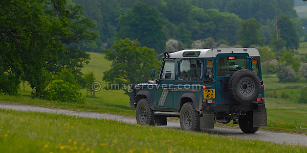 Land Rover Defender 90 300tdi the ALRC National 2008. The Association of Land Rover Clubs (ALRC) National Rallye is the biggest annual motor sport oriented Land Rover event and was hosted 2008 by the Midland Rover Owners Club at Eastnor Castle in Herefordshire, UK, 22 - 27 May 2008. --- No releases available. Automotive trademarks are the property of the trademark holder, authorization may be needed for some uses.