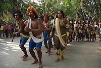 X JOGOS DOS POVOS INDÍGENAS<br /> Kaiapós <br /> Os Jogos dos Povos Indígenas (JPI) chegam a sua décima edição. Neste ano 2009, que acontecem entre os dias 31 de outubro e 07 de novembro. A data escolhida obedece ao calendário lunar indígena. com participação  cerca de 1300 indígenas, de aproximadamente 35 etnias, vindas de todas as regiões brasileiras. <br /> Paragominas , Pará, Brasil.<br /> Foto Paulo Santos<br /> 03/11/2009