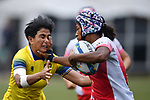Fumiko Otake (JPN), <br /> AUGUST 31, 2018 - Rugby : Women's Preliminary round Group B match between Japan 26-0 Thailand at Gelora Bung Karno Rugby Field during the 2018 Jakarta Palembang Asian Games in Jakarta, Indonesia. <br /> (Photo by MATSO.K/AFLO SPORT)