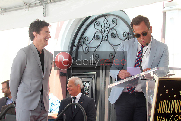 Jason Bateman, Will Arnett<br /> at the Jason Bateman Star on the Hollywood Walk of Fame, Hollywood, CA 07-26-17<br /> David Edwards/DailyCeleb.com 818-249-4998