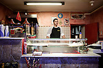 Younes is the owner of a kebab restaurant in Downtown Novellara, October 25, 2010...