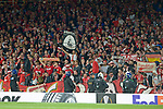 14.09.2017, Emirates Stadium, London, GER, Europa League, Arsenal London vs 1. FC Koeln, im Bild<br /> <br /> Fans Koeln<br /> <br /> <br /> Foto &copy; nordphoto / Treese