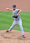 2 September 2012: St. Louis Cardinals pitcher Jake Westbrook in action against the Washington Nationals at Nationals Park in Washington, DC. The Nationals edged out the visiting Cardinals 4-3, capping their 4-game series with three wins. Mandatory Credit: Ed Wolfstein Photo