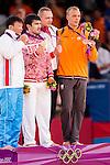 Engeland, London, 2 Augustus 2012.Olympische Spelen London.Judoka Henk Grol wint Brons op de Olympische spelen in London in de klasse -100 kilogram.