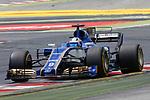 Spanish F1 Grand Prix Pirelli 2017.<br /> Marcus Ericsson (Sauber).
