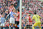 Football macht during La Liga BBVA.<br /> Athletic Club - Real Sociedad<br /> aimeric laporte